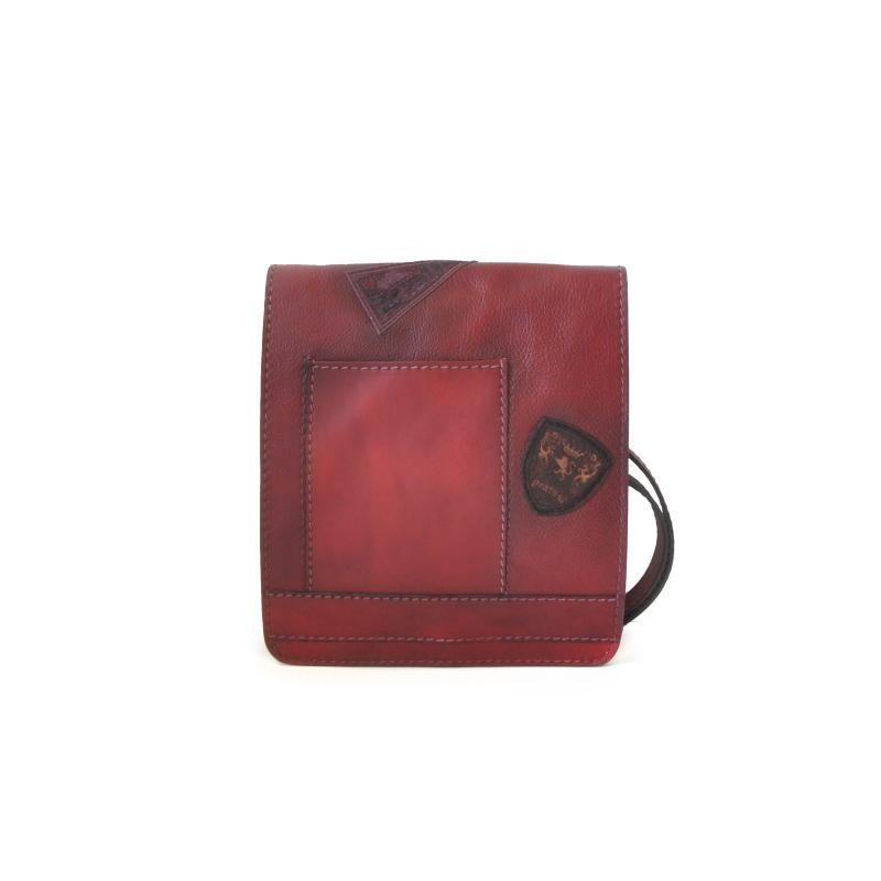 "Leather Man bag ""Messanger"" B182-24"