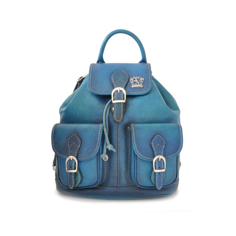 """Leather Backpack """"Caporalino"""""""