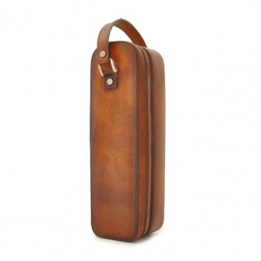 "Leather winecase ""Bacco"""