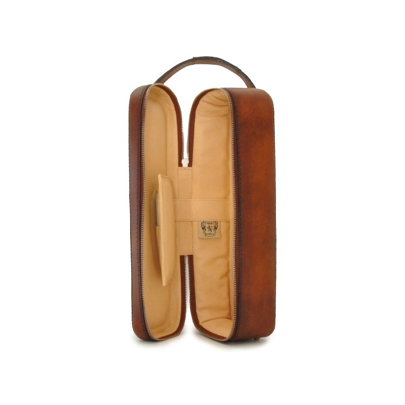 """Leather winecase """"Bacco"""" B"""