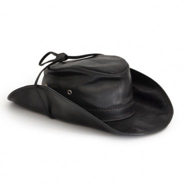 "Leather hat one ""Cagliostro"""