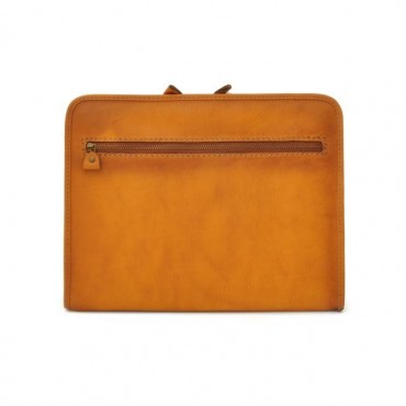 Leather portfolio for blok...