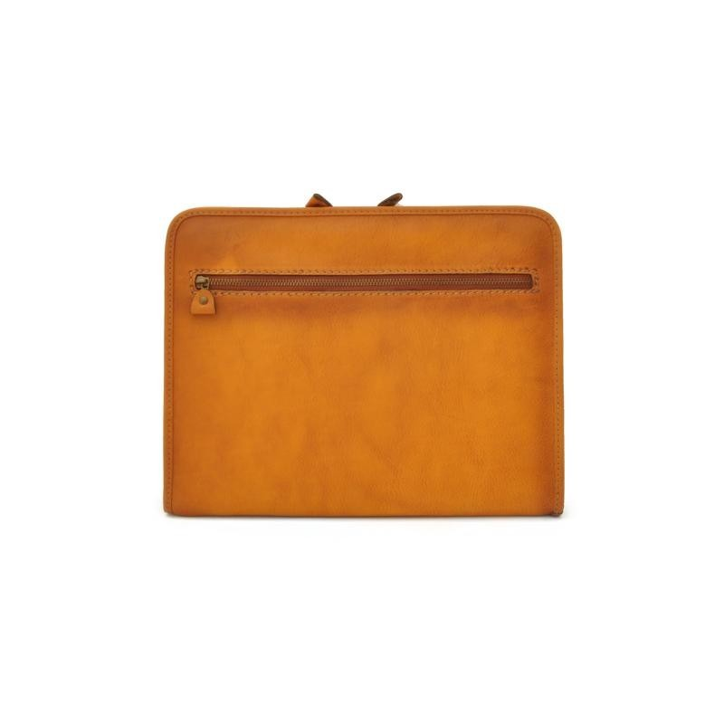 "Leather portfolio for blok notes ""Dante"" B"