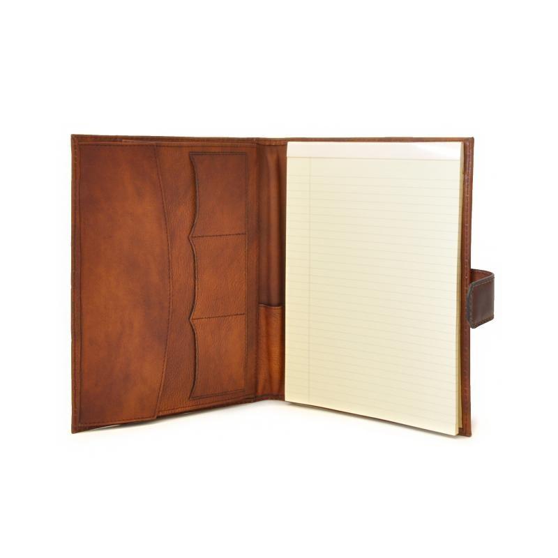 """Leather notebook """"Andrea Del Sarto"""" B"""
