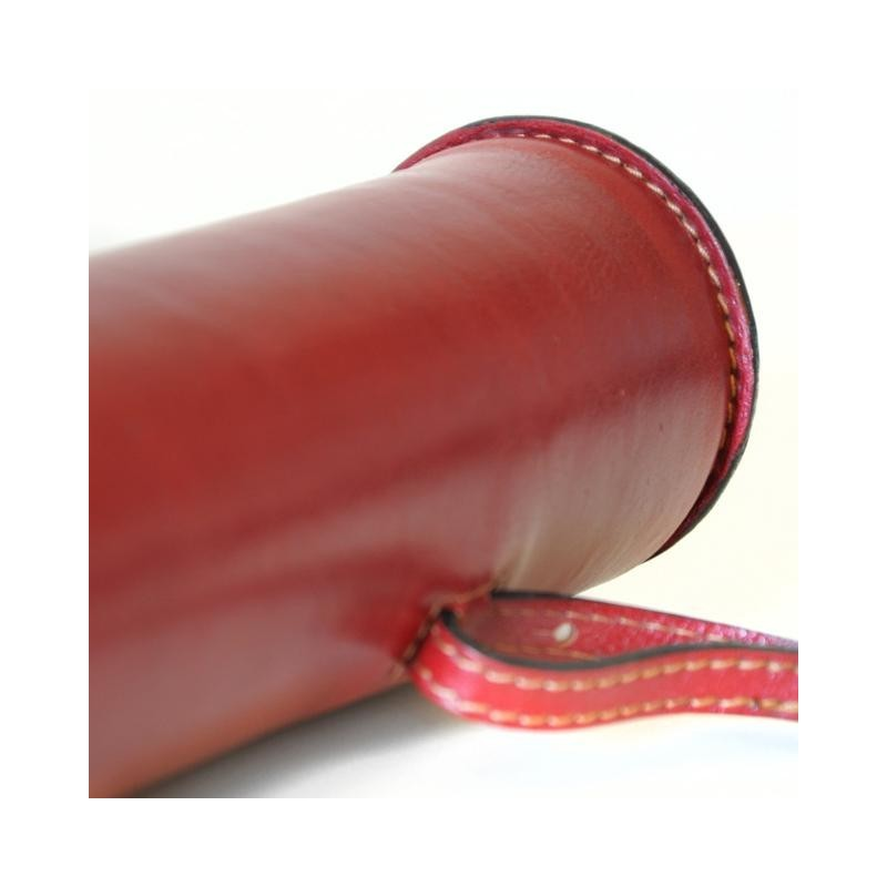 """Leather Tube port projects """"Tubo"""""""
