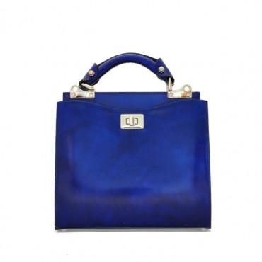 "Leather Lady bag ""Anna Maria Luisa de' Medici"" small"