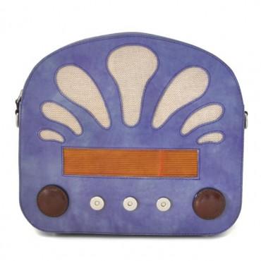 "Leather Lady bag ""Radio Days"""