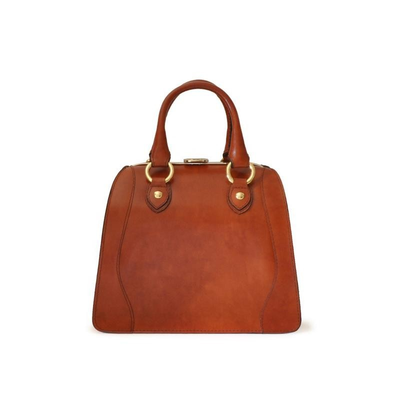 "Leather Lady bag ""Saturnia"" B333"