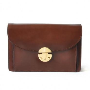 "Leather Lady bag ""Tullia d'Aragona"" B"