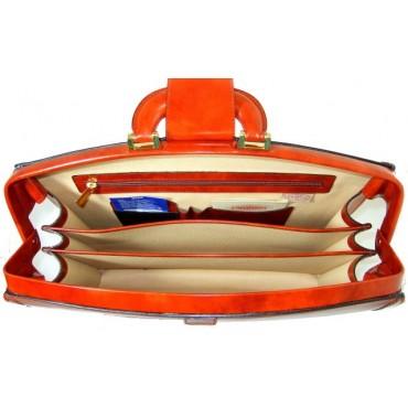 "Leather briefcase ""Brunelleschi"" R120"