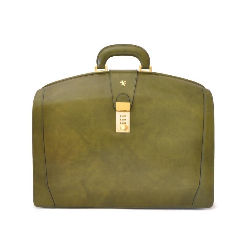 """Leather briefcase """"Brunelleschi"""" R120B"""