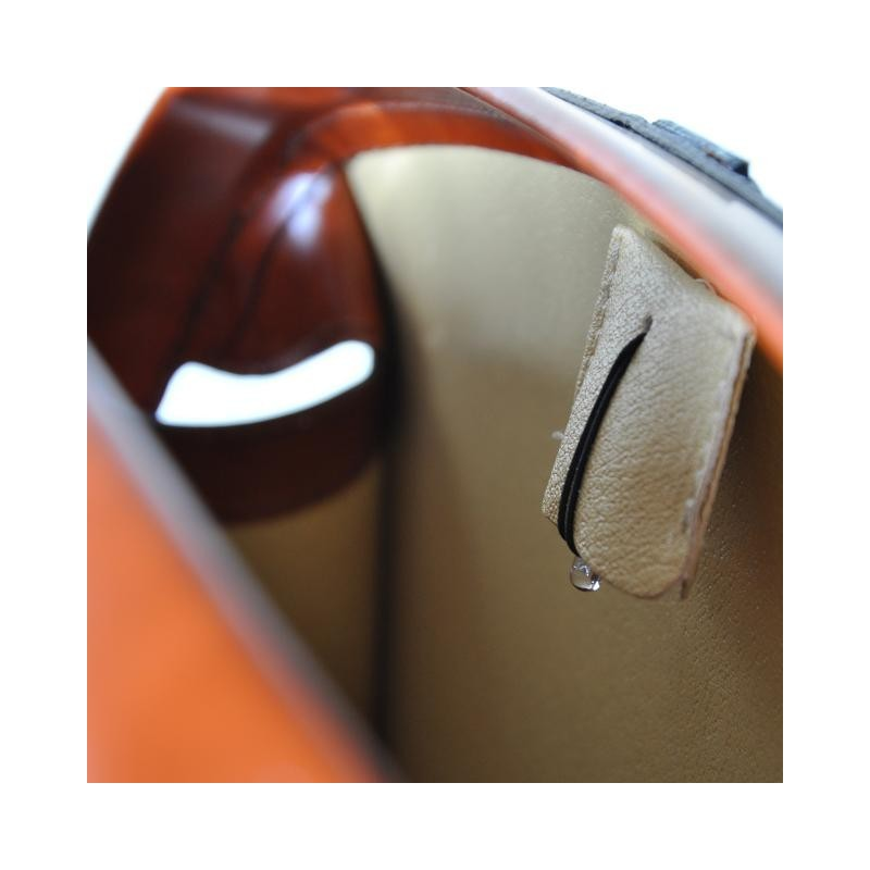 "Leather briefcase ""Brunelleschi"" R120/37"