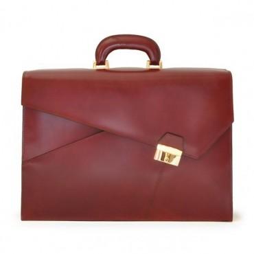 """Leather briefcase """"Leon Battista Alberti"""" R452"""