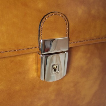 """Leather briefcase """"Piccolomini"""" R604"""