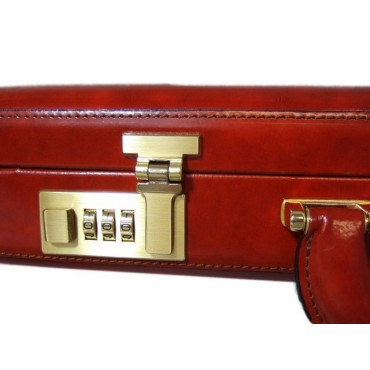 "Leather briefcase 24 H ""Federico da Montefeltro"""