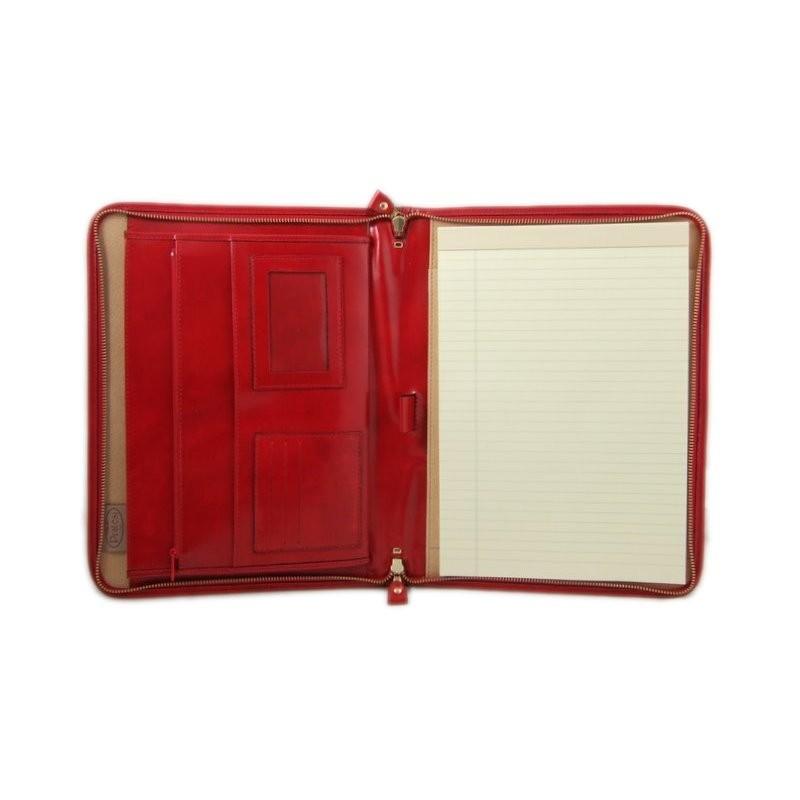 """Porta documenti in pelle """"Dante"""" R"""