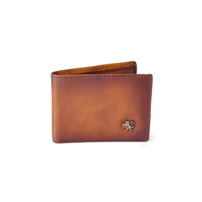 "Leather Man wallet ""Cappella Brancacci"""
