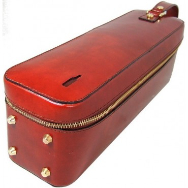 """ Leather winecase Bacco"""""