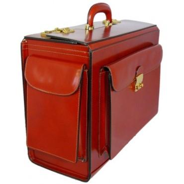 """Leather Briefcase """"Arnolfo Di Cambio"""" S408"""