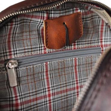 "Leather Backpack ""Chitarra"""