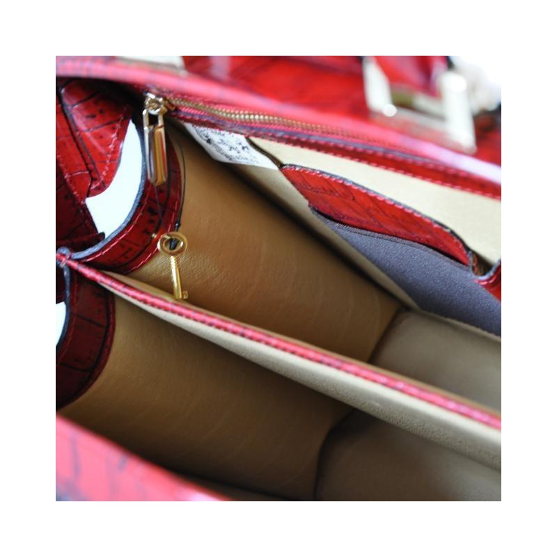 "Leather briefcase ""Brunelleschi"" K120-37"