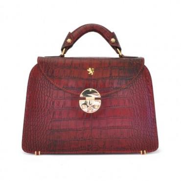 "Leather Lady bag ""Veneziano"" small"