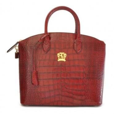 "Leather Lady bag ""Versilia"" K348"