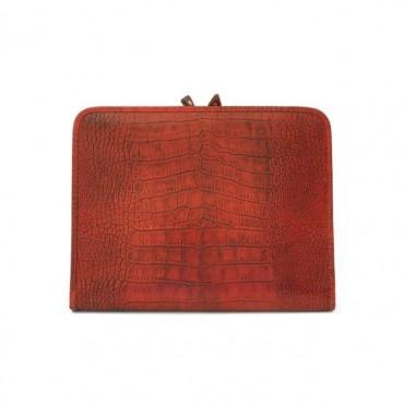 "Leather portfolio for block notes ""Dante"" K"