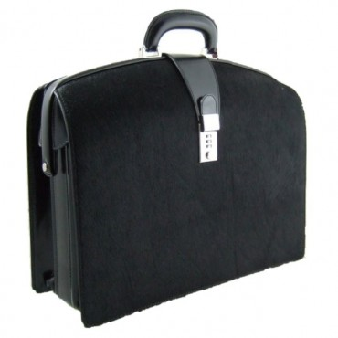 Leather briefcase...