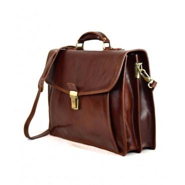 """Leather Man Briefcase """"Briglia"""""""