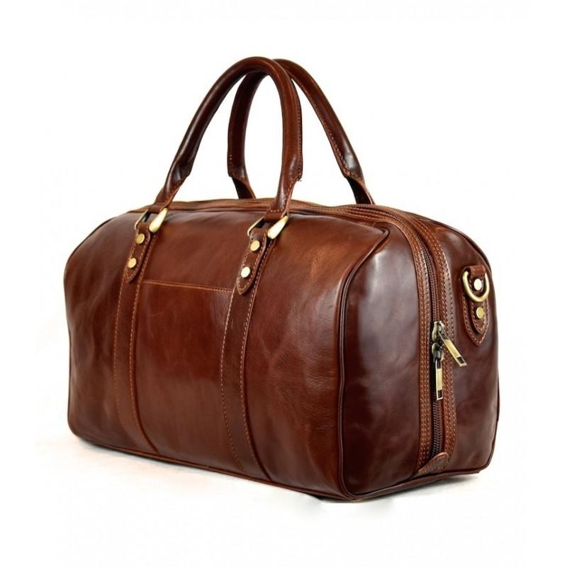 "Leather Travel bag ""Albatrella"""