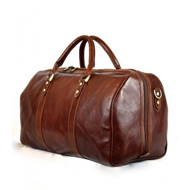 "Leather Travel bag ""Sughera"""