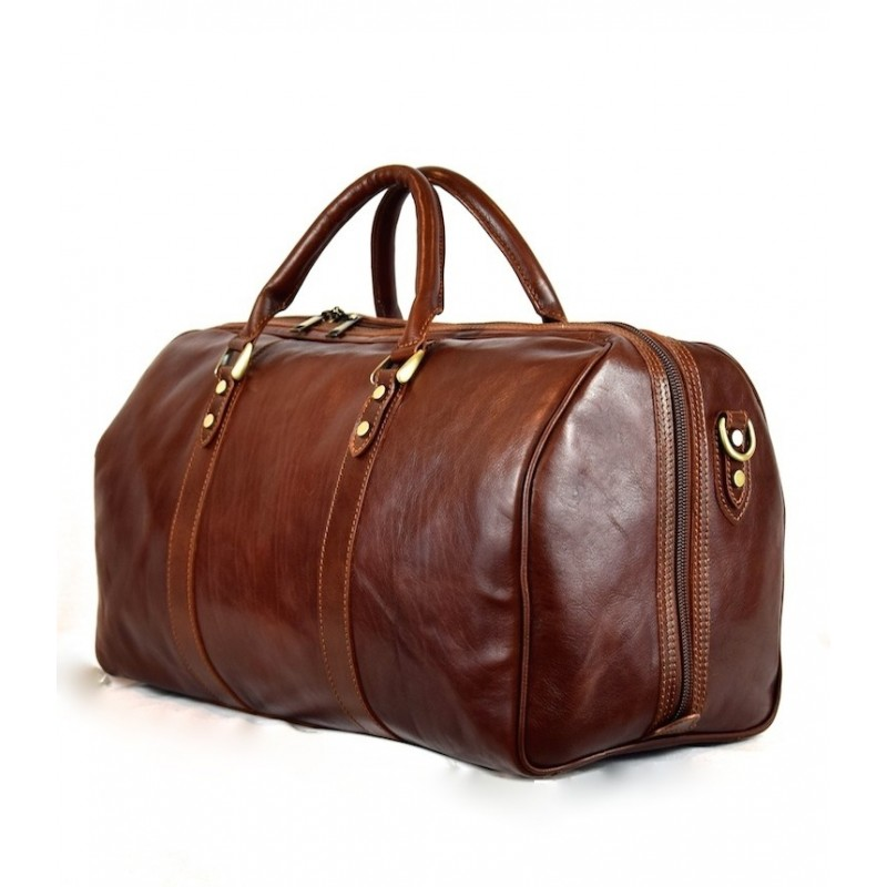 "Leather Travel bag ""Sughera"""