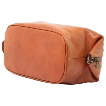 """Leather Beautycase """"Margherita"""" KO"""