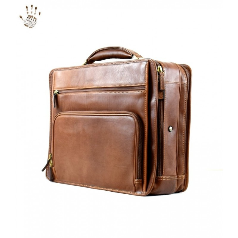 """Leather briefcase """"Semproniano"""""""