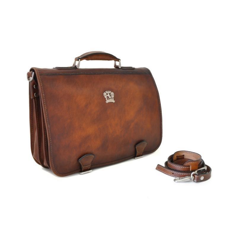 """Leather Briefcase """"Secchieta"""""""