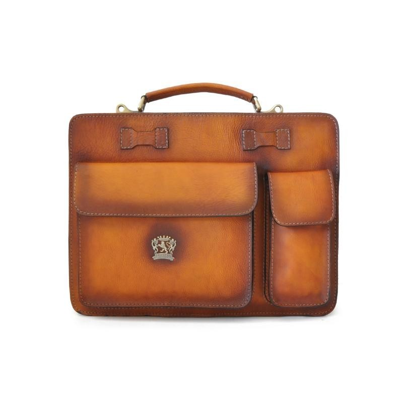 """Leather Briefcase """"Milano"""" 40"""