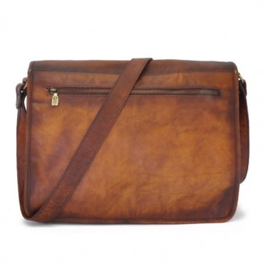 "Leather Man bag ""Val D'Orcia"""