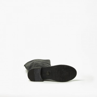 "Leather Woman boot ""Bruna"" CZ"