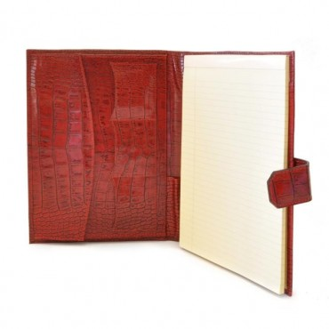 """Notes Holder in cow leather """"Andrea Del Sarto"""" K"""