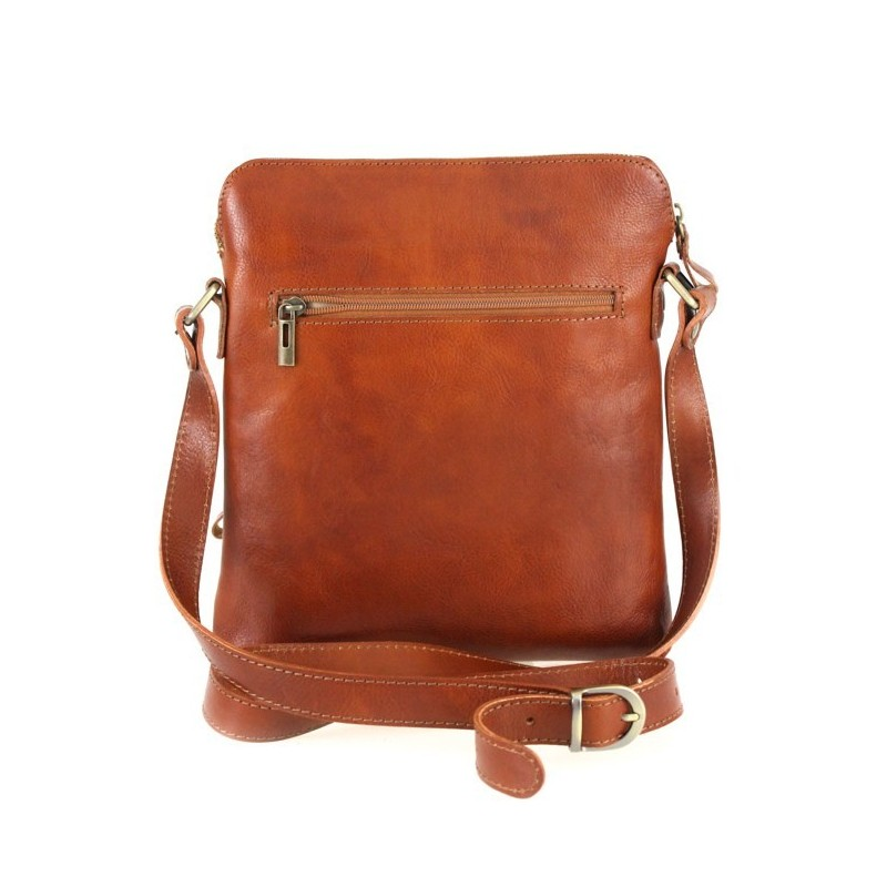 "Leather man bag ""Nico"""