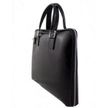 "Leather Briefcase ""Lidio"""