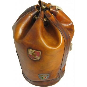 "Leather Travel bag ""Patagonia"""