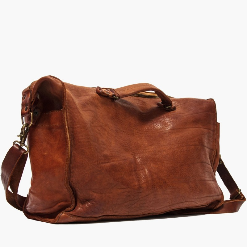 "Leather men bag ""Lucky Luciano"""