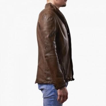 """Leather man jacket """"Bottoni"""""""