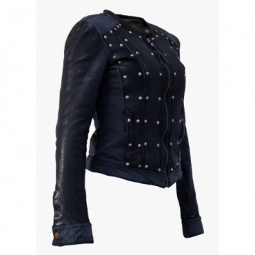 Leather Lady jacket...
