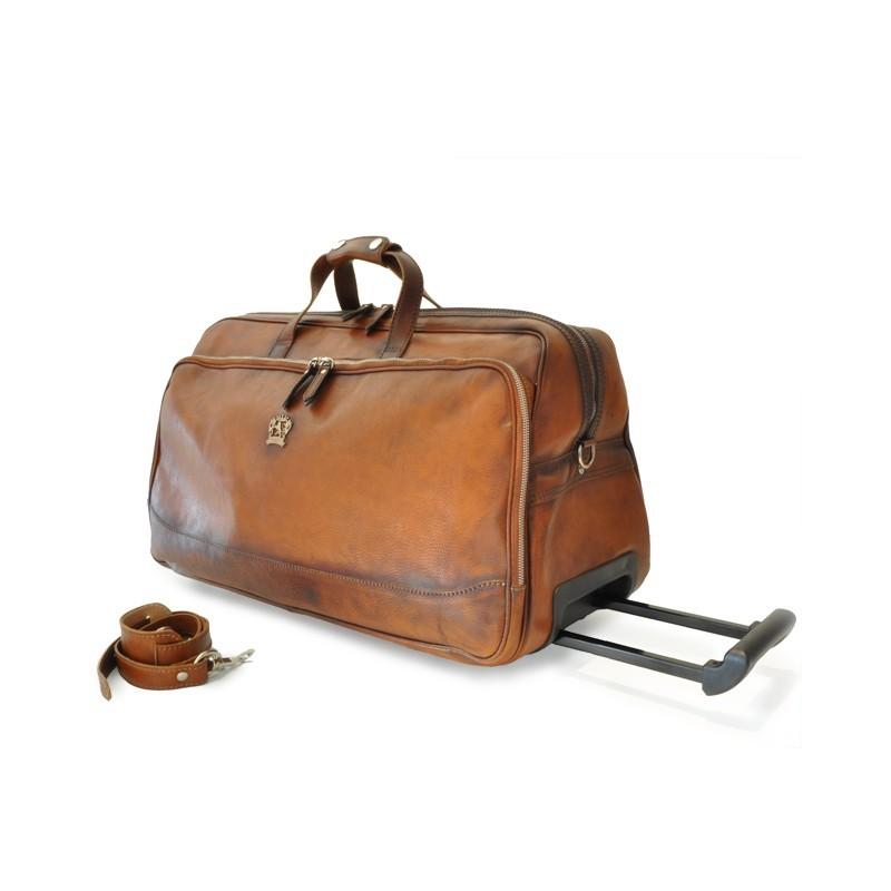 "Leather Trolley ""Transiberiana"""