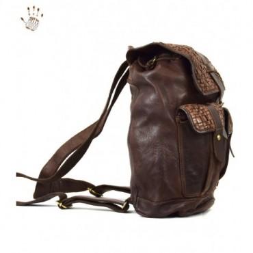 """Leather back pack """"Aldo"""""""