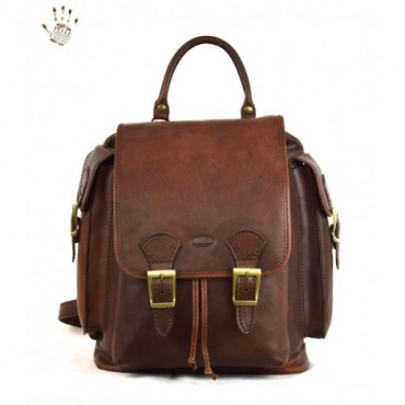 """Leather Backpack """"Cisto"""""""