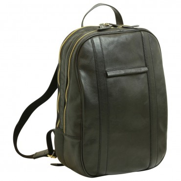 """Leather backpack """"Nowy..."""